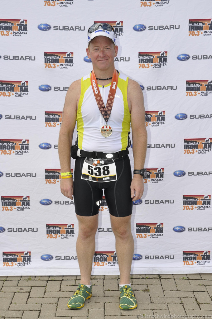 Ironman Muskoka 70.3 - September 2012 - 170lbs