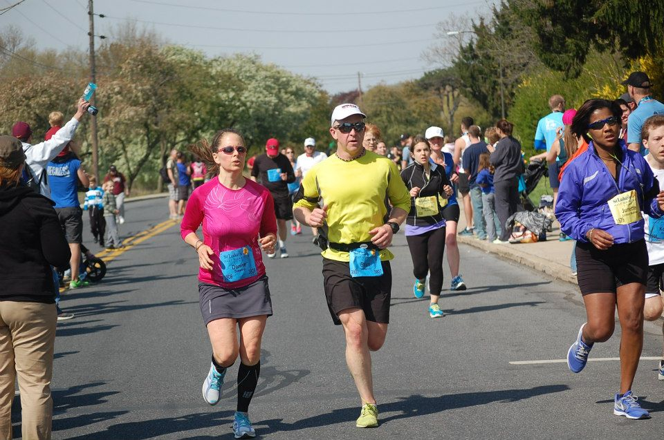 2013 Half Marathon Finish