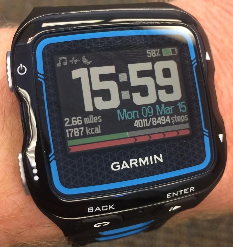 Garmin 920xt BigTime watch face