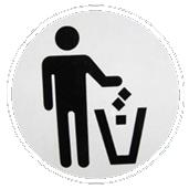 garbage, junk, trash, pitch