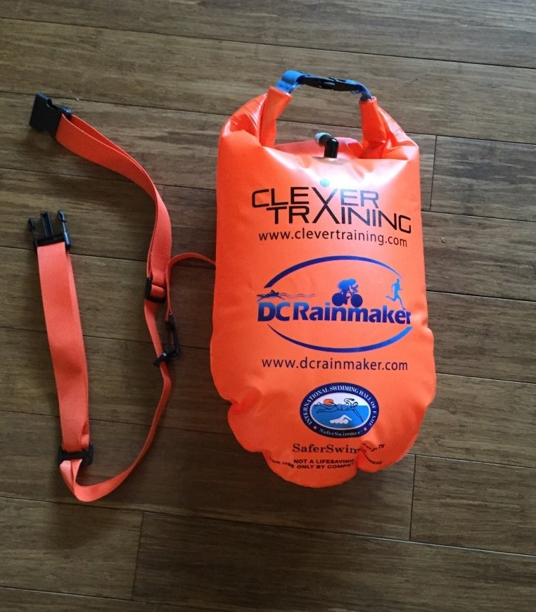 CleverTraining DC Rainmaker SaferSwimmer Float inflated