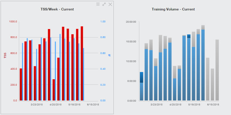 Training Peaks TSS and Volume-IMCdA Week 23