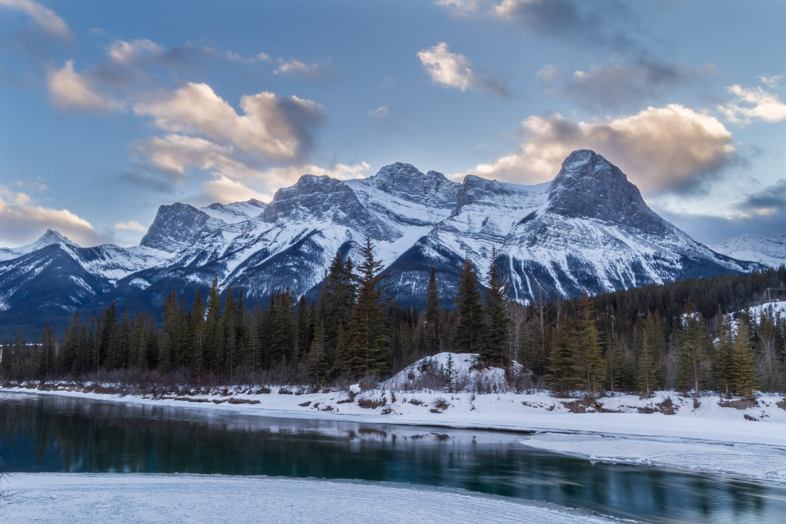 Canada, Canmore, HDR