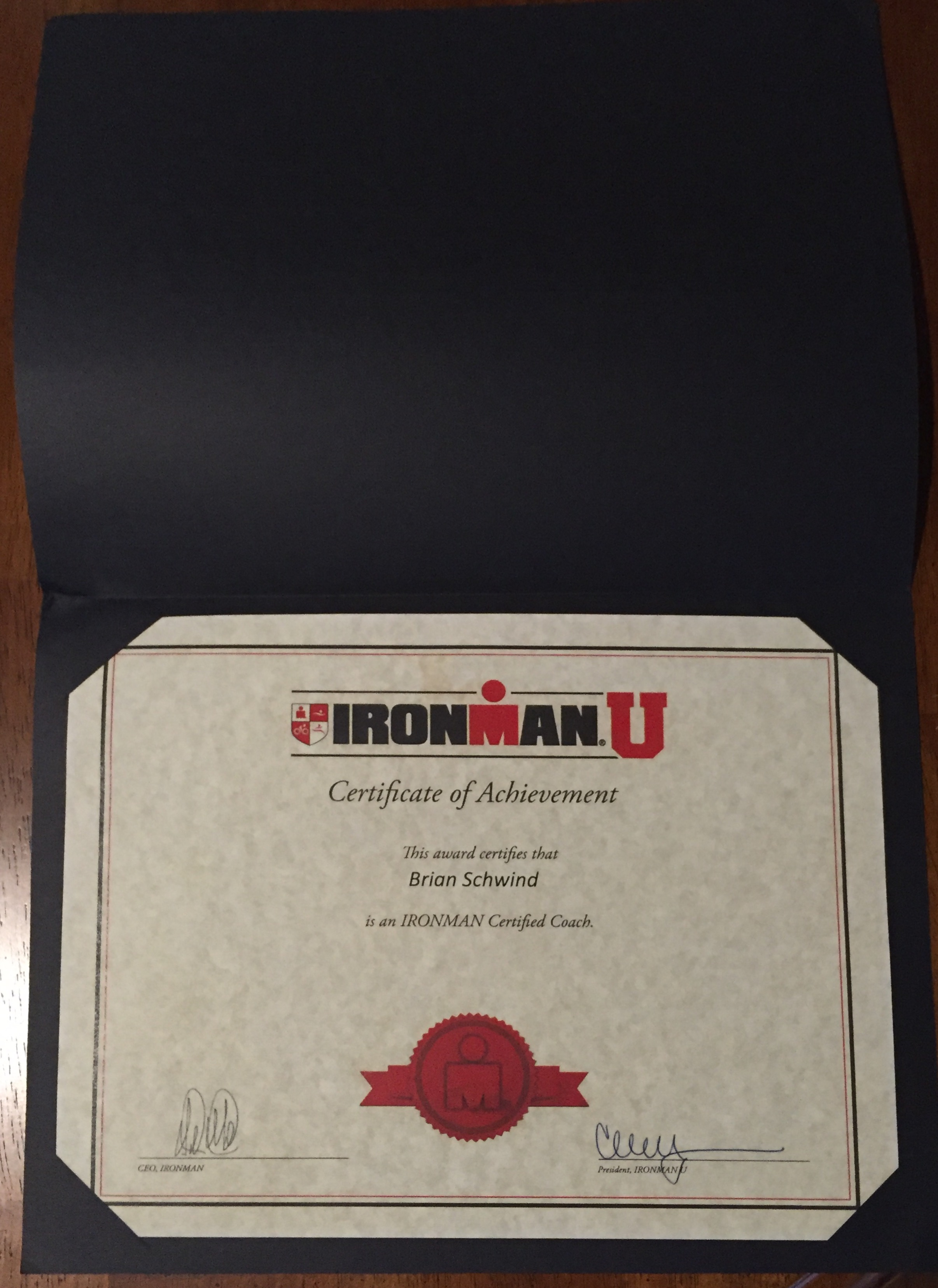 ronman University Coaching Certificate