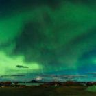 Europe, Iceland, Lake Myvatn., Travel, aurora borealis, northern lights